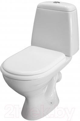 Унитаз напольный Керамин Стиль Деко Standard (с цветным сиденьем)