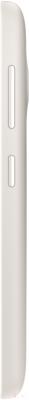 Смартфон Microsoft Lumia 535 Dual (белый) - вид сбоку