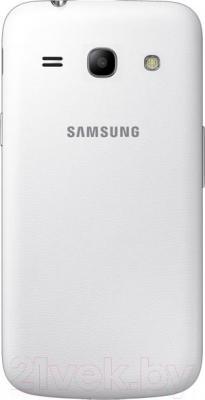 Смартфон Samsung Galaxy Star Advance Duos / G350E (белый) - вид сзади