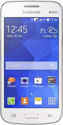 Смартфон Samsung Galaxy Star Advance Duos / G350E (белый) - общий вид
