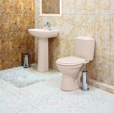 Унитаз напольный Керамин Палитра Premium (с цветным сиденьем)