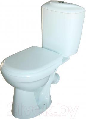 Унитаз напольный Керамин Палитра Standard (с цветным сиденьем)