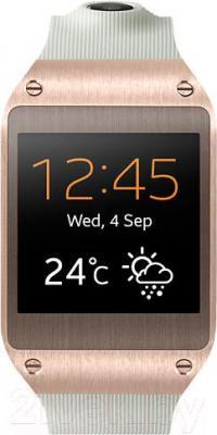Интеллектуальные часы Samsung Galaxy Gear V7000 Smart Watch (бело-золотой)