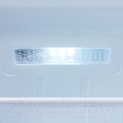 Холодильник с морозильником Samsung RB33J3420SA/WT