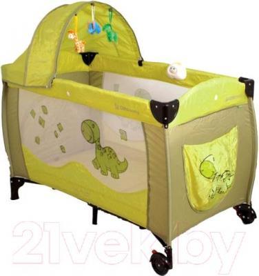 Кровать-манеж Coto baby Samba Lux (07) - общий вид