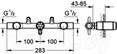 Встроенный механизм смесителя GROHE Ondus 29025000