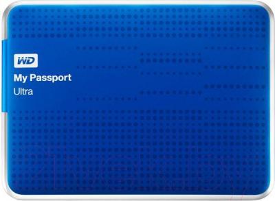 Внешний жесткий диск Western Digital My Passport Ultra 1TB Blue (WDBZFP0010BBL) - общий вид