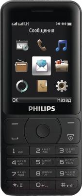 Мобильный телефон Philips Xenium E180 (черный)