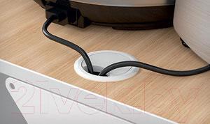 Полка для кухонной техники Holder SKA-W (белый) - подвод проводов
