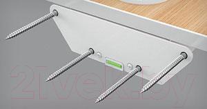 Полка для кухонной техники Holder SKA-W (белый) - крепление к стене