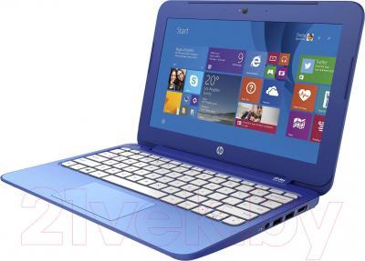 Ноутбук HP Stream 11-d055ur (L0Z83EA) - вполоборота