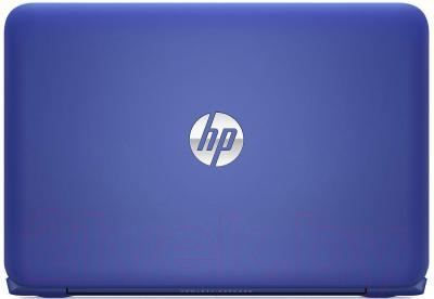Ноутбук HP Stream 11-d055ur (L0Z83EA) - вид сзади