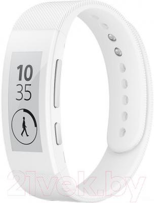 Умный браслет Sony SmartBand Talk SWR30 (белый)