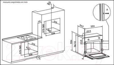 Газовый духовой шкаф Whirlpool AKP 807 IX