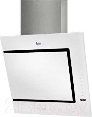 Вытяжка декоративная Teka DVC 560 / 40491340 (белый) - общий вид