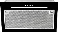 Вытяжка скрытая Teka GFG 2 / 40446752 (черное стекло) -