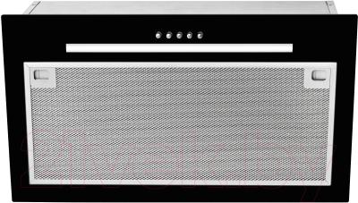 Вытяжка скрытая Teka GFG 2 / 40446752 (черное стекло)