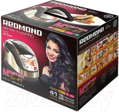 Мультикухня Redmond RMC-FM4502 (черный) - Коробка
