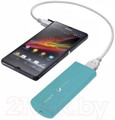 Портативный аккумулятор Sony CP-V3L - с телефоном