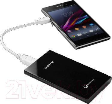 Портативное зарядное устройство Sony CP-V10B - зарядка телефона