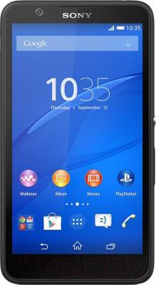 Смартфон Sony Xperia E4 Dual / E2115 (черный) - общий вид