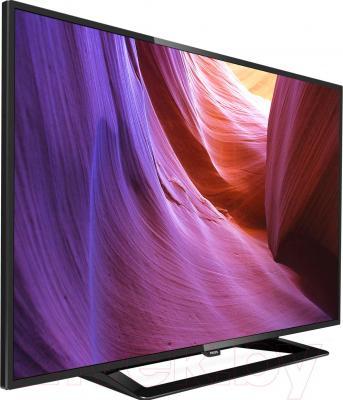 Телевизор Philips 32PFT4100/60 - вид сбоку