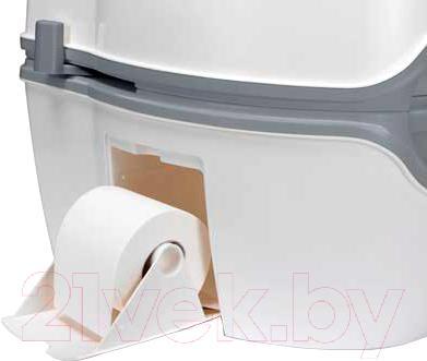 Портативный биотуалет Thetford Porta Potti Qube Excellence - держатель для туалетной бумаги
