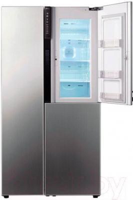 Холодильник с морозильником LG GC-M237JMNV - общий вид