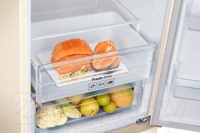 Холодильник с морозильником Samsung RB37J5250EF/WT - зона свежести