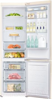 Холодильник с морозильником Samsung RB37J5250EF/WT - камеры хранения