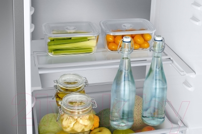 Холодильник с морозильником Samsung RB41J7751SA/WT - общий вид