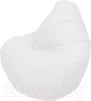 Бескаркасное кресло Flagman Груша Мега Г3.1-00 (белый) - общий вид