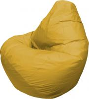 Бескаркасное кресло Flagman Груша Мега Г3.1-07 (желтый) -