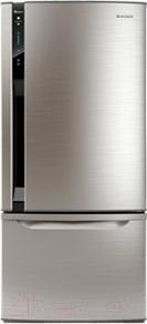 Холодильник с морозильником Panasonic NR-BY602XSRU - вид спереди
