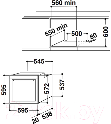Электрический духовой шкаф Whirlpool AKP 288 NA