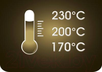 Автоматическая плойка Rowenta CF3610D0 - регулировка температуры