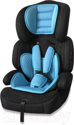 Автокресло Lorelli Junior Premium (Black Blue) - общий вид