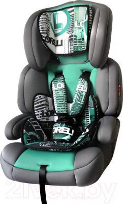 Автокресло Lorelli Junior Premium (Urban Green) - общий вид