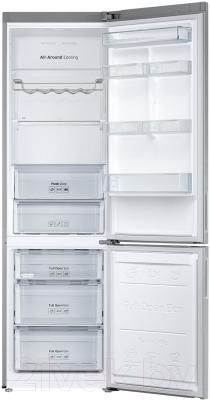 Холодильник с морозильником Samsung RB37J5240SA/WT - внутренний вид
