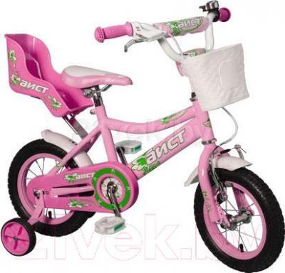 Детский велосипед Aist KB12-22 (розовый) - общий вид