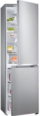 Холодильник с морозильником Samsung RB38J7761SA/WT