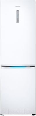 Холодильник с морозильником Samsung RB38J7861WW/WT - общий вид