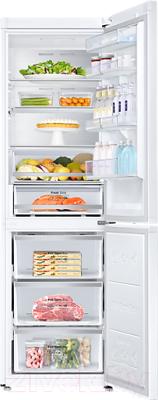 Холодильник с морозильником Samsung RB38J7861WW/WT