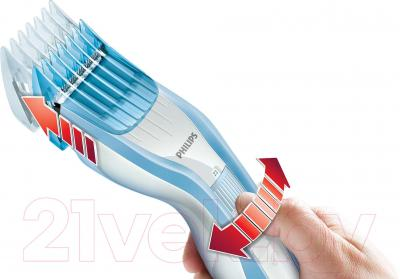 Машинка для стрижки волос Philips НС5446/80 - управление