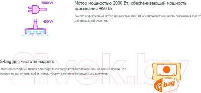 Пылесос Philips FC9062/04 - преимущества модели