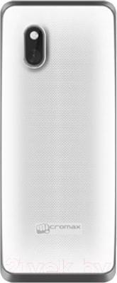 Мобильный телефон Micromax X249 (белый) - вид сзади