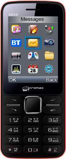 Мобильный телефон Micromax X245 (красный) - общий вид