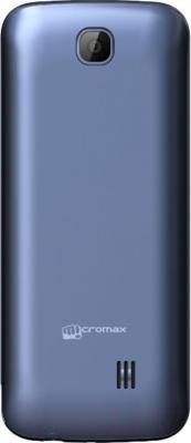 Мобильный телефон Micromax X2814 (синий) - вид сзади