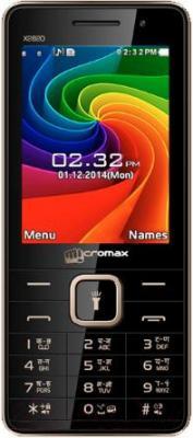 Мобильный телефон Micromax X2820 (черный) - общий вид