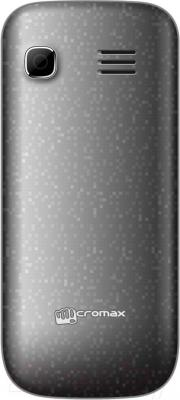 Мобильный телефон Micromax X352 (серый) - вид сзади